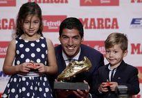 Luis Suarez giành Chiếc giày vàng, muốn giải nghệ ở Barca