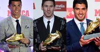 Chủ nhân Chiếc giày vàng nào ghi bàn 'khủng' nhất trong 10 năm qua?