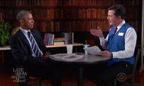 Tổng thống Obama tập phỏng vấn xin việc mới sau khi rời nhà Trắng