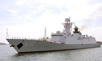Hai chiến hạm Hải quân Trung Quốc vào Cảng quốc tế Cam Ranh