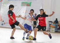 Giải Futsal nữ báo chí: Cúp về tay khách mời