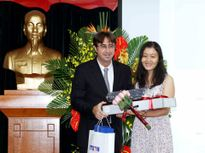 Trao giải cuộc thi 'Phóng viên trẻ Pháp ngữ - Việt Nam 2016'