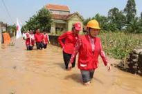 Chung tay khắc phục hậu quả bão lũ Miền Trung