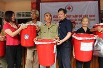 Hội CTĐ Việt Nam giúp 4 tỉnh Miền Trung gần 2 tỷ đồng