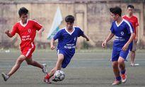 Kết quả, hình ảnh thi đấu lượt cuối vòng bảng giải bóng đá học sinh THPT Hà Nội