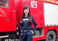 Nữ sinh ĐH Phòng cháy chữa cháy xinh đẹp, đam mê múa bụng
