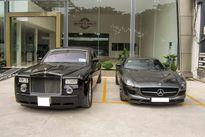 Bộ đôi siêu xe 30 tỷ nhà Tăng Thanh Hà tại Sài Gòn