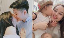 Sao Việt 24/10: Mẫn Tiên tình tứ với bạn trai, con trai Ly Kute âu yếm 'cắn' má mẹ
