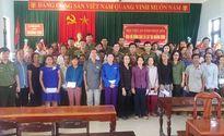 Học viện ANND trao quà cho nhân dân vùng lũ tại Hà Tĩnh, Quảng Bình