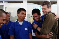 2 thuyền viên Hà Tĩnh bị cướp biển Somalia bắt giữ đã về đến Kenya
