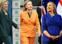 Bí mật sau chiếc áo jacket quyền lực của bà Hillary Clinton