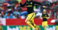 Griezmann cho Messi và Suarez 'ôm hận'
