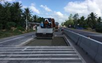 Đảm bảo khắc phục mặt đường bê tông nhựa QL1 qua Bình Định
