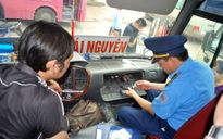 Xử nghiêm xe không truyền dữ liệu thiết bị giám sát hành trình