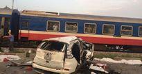 Vụ tàu hỏa đâm ô tô ở Thường Tín: Sẽ cho lắp đặt barie theo quy chuẩn