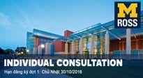 Tư vấn cá nhân cho chương trình Global MBA đặc biệt của Đại học Michigan (Mỹ)