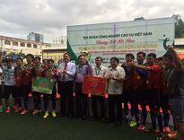 Caosu Phú Riềng đạt giải nhất toàn đoàn hội thao CNVC - LĐ ngành Caosu VN