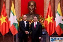 Việt Nam - Myanmar kêu gọi không sử dụng vũ lực ở Biển Đông