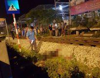 Hà Nội: Đi bộ qua đường sắt, người đàn ông bị tàu đâm tử vong
