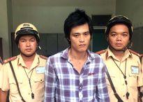 CSGT bắt tên trộm xe máy trên phố Sài Gòn