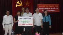 Toyota Việt Nam hỗ trợ người dân bị thiệt hại vì mưa lũ