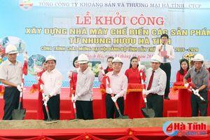 Xây dựng Nhà máy Chế biến các sản phẩm từ Nhung hươu