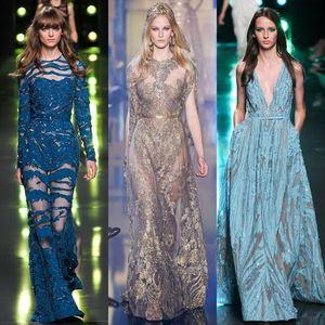 Thời trang Elie Saab: Khi tiên nữ giáng trần