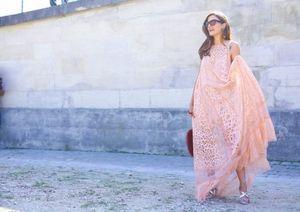 Ngắm tín đồ đẹp lộng lẫy giữa nắng vàng Paris