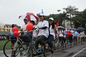 Háo hức Ngày hội Tuổi trẻ rèn luyện sức khỏe xây dựng Thủ đô
