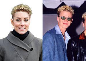 Công nương Anh được photoshop ghép tóc với người nổi tiếng