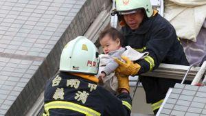 Động đất ở Đài Loan: 5 người chết, 35 người vẫn mất tích