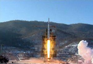Triều Tiên đã phóng tên lửa tầm xa từ bãi phóng Dongchang-ri