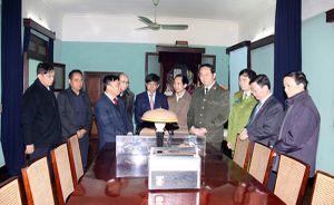 Bộ trưởng Trần Đại Quang dâng hương tưởng niệm Chủ tịch Hồ Chí Minh