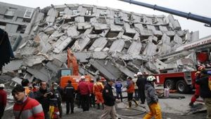 4 người Việt mắc kẹt trong vụ động đất Đài Loan
