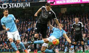 Clip Man City lỡ ngôi đầu do thua trước 'đại gia' Leicester