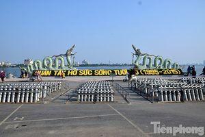 Hà Nội: Trận địa pháo hoa hoành tráng trước phút giao thừa