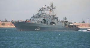 Chiến hạm Nga tập trận ngay trước mũi NATO