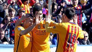 Levante 0-2 Barca: Enrique san bằng kỷ lục của Guardiola