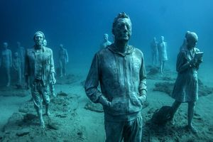 Độc đáo bảo tàng nghệ thuật nằm sâu dưới đáy biển