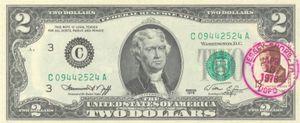 Vì sao nhiều người thích tờ 2 đô la?
