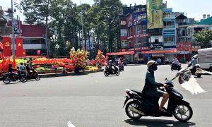 Khoảnh khắc Sài Gòn phố vắng trong ngày mồng một Tết
