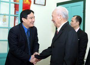 Đoàn đại biểu T.Ư Đoàn chúc Tết nguyên lãnh đạo Đảng và Nhà nước