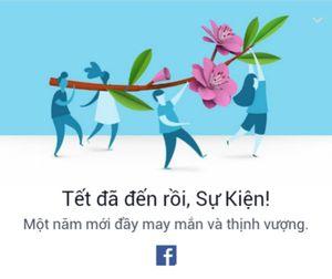 Facebook ăn Tết nhiệt tình cùng cư dân mạng