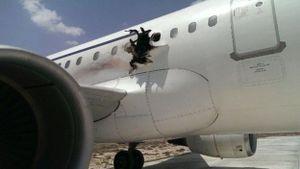 Vụ nổ làm thủng máy bay Somali: Bom cài trong laptop