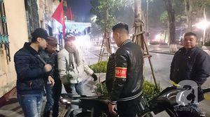 Tổ công tác đặc biệt thức trắng đêm bảo vệ người dân Thủ đô đón Giao thừa