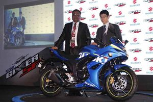 Cận cảnh môtô côn tay Suzuki Gixxer SF giá chỉ 30 triệu