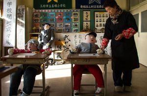 Đột nhập ngôi làng búp bê ở Nhật Bản