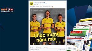 Sao Chelsea, Dortmund chúc Tết CĐV Việt Nam