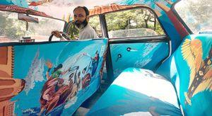 Một vòng Mumbai trên những chiếc taxi nghệ thuật đẹp như tranh
