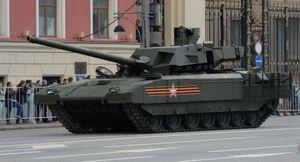 """Quân đội Nga với siêu tăng T-14 """"Armata"""" vượt trội hơn quân đội Mỹ"""